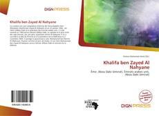 Khalifa ben Zayed Al Nahyane kitap kapağı
