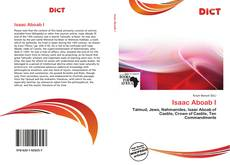 Bookcover of Isaac Aboab I