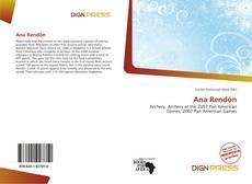 Capa do livro de Ana Rendón