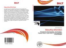 Bookcover of Aboulfaz Eltchibeï