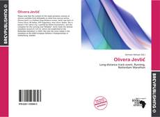 Bookcover of Olivera Jevtić