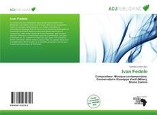 Bookcover of Ivan Fedele