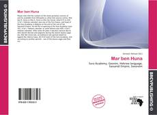 Bookcover of Mar ben Huna