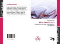 Arnis Rumbenieks kitap kapağı