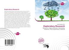 Copertina di Exploratory Research