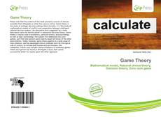 Bookcover of Game Theory