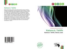 Bookcover of Kahana b. Tahlifa