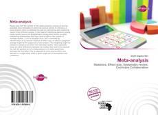 Bookcover of Meta-analysis