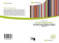 Capa do livro de Kostas Polychroniou