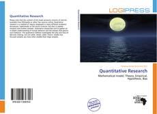 Quantitative Research kitap kapağı
