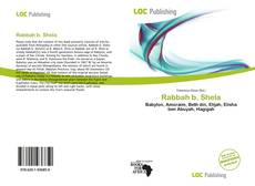 Capa do livro de Rabbah b. Shela