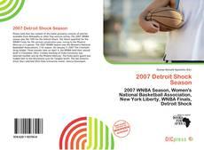 Borítókép a  2007 Detroit Shock Season - hoz