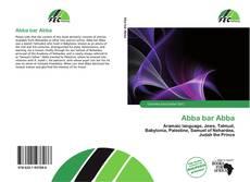 Bookcover of Abba bar Abba
