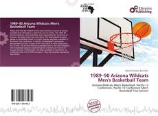 Portada del libro de 1989–90 Arizona Wildcats Men's Basketball Team
