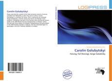 Carolin Golubytskyi kitap kapağı
