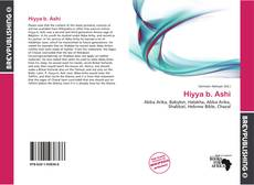 Bookcover of Hiyya b. Ashi