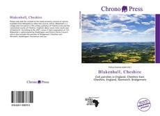 Bookcover of Blakenhall, Cheshire
