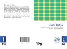 Bookcover of Huna b. Joshua