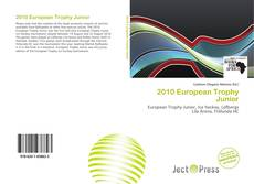 Capa do livro de 2010 European Trophy Junior