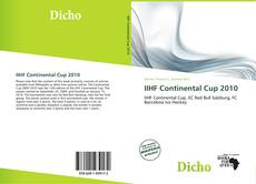 Bookcover of IIHF Continental Cup 2010