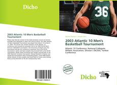 Обложка 2003 Atlantic 10 Men's Basketball Tournament