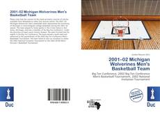 Обложка 2001–02 Michigan Wolverines Men's Basketball Team