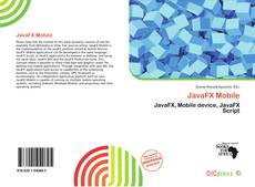 Bookcover of JavaFX Mobile