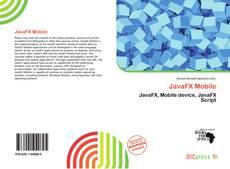 Buchcover von JavaFX Mobile