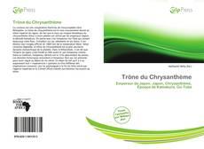 Portada del libro de Trône du Chrysanthème