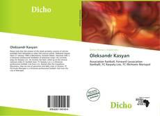 Oleksandr Kasyan kitap kapağı
