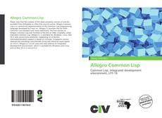 Bookcover of Allegro Common Lisp