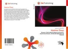 Capa do livro de Hashim Thaçi