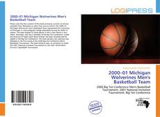 Portada del libro de 2000–01 Michigan Wolverines Men's Basketball Team