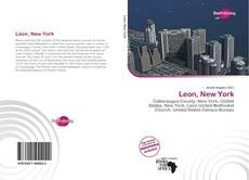Capa do livro de Leon, New York