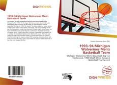 1993–94 Michigan Wolverines Men's Basketball Team的封面