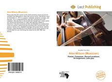 Обложка Alex Wilson (Musician)