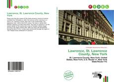 Lawrence, St. Lawrence County, New York的封面