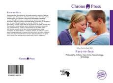 Buchcover von Face-to-face