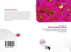 Bookcover of Generalized Other