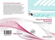 Portada del libro de Kaya (Programming Language)