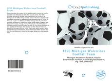 Bookcover of 1890 Michigan Wolverines Football Team