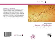 Bookcover of Human self-reflection