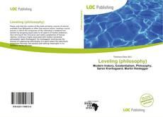 Capa do livro de Leveling (philosophy)