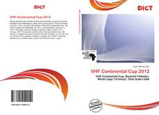 Bookcover of IIHF Continental Cup 2012