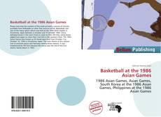 Buchcover von Basketball at the 1986 Asian Games