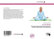 Bookcover of Lived Body