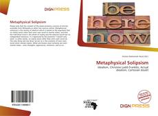 Bookcover of Metaphysical Solipsism
