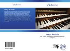 Bookcover of Denys Baptiste