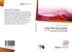 Bookcover of Abba Mari ben Eligdor