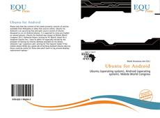 Bookcover of Ubuntu for Android
